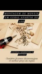 MONTAGEM/DESMONTAGEM EM GOIANIRA