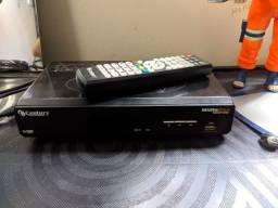 Vendo receptor satélite century mídia box shd7100