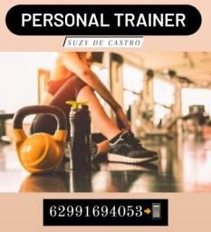 Praticidade- Personal trainer (Academia ou Parque)
