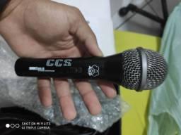 Microfone CCS + TRIPÉ