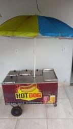 Vendo carrinho de Cachorro quente