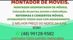 MONTADOR DE MÓVEIS NORTE DA ILHA.