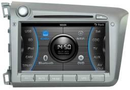 Central Multimídia Premium Caska Ca277-Civic Low Version - Usada
