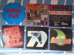 Disco Lp Vinil Disco Music (lote Com 6 Discos)