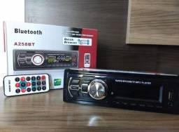 Super promoção Som Automotivo Radio Fm Mp3 Bluetooth Usb Sd Rca First Option