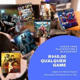 Qualquer jogo Original de ps3 por R$45,00 - Games em Mídia Digital