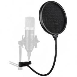 Pop Filter Anti Puff Studio Para Microfone Condensador