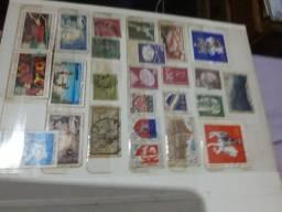 Notas e selos antigos tenho muitas outras