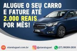 Aluguel seu carro e garanta renda extra de até R$2.000!