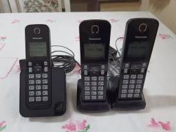 Título do anúncio: Telefone com 2 ramais