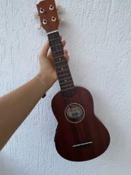 Ukulele Elétrico Soprano Vogga com capa