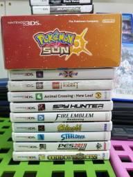 Jogos de NintendoDS, 3DS, Game Boy, Game Boy Collor e Game Boy Advance