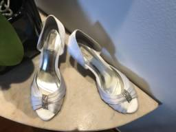 Sapato de noiva, tamanho 36