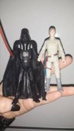 2 bonecos raros perfeito estado star wars