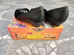 Sapato Mississipi preto n° 37