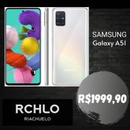 Preço incrível do sansung Galaxy A51 com garantia e na caixa