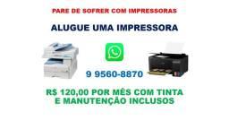Aluguel de impressoras HP, Epson, Canon, Samsung, Ricoh e outras marcas