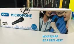 Título do anúncio: Microfone Alta qualidade para Karaokê com Cabo Incluso Promoção