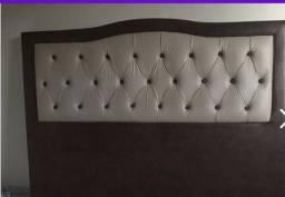 Cabeceira para cama casal 1,63 x 1,20