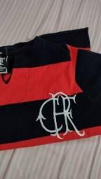 Título do anúncio: Camisa do Flamengo antiga de criança