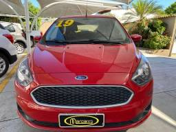 Ford Ka Se 2019 1.0 Vermelho