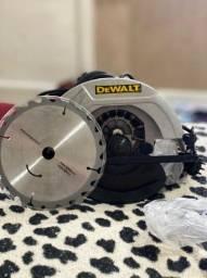 Serra circular dewalt nova nunca usada