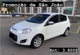 Fiat palio atractive - NO BOLETO
