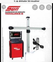 Alinhador 3d sun visualiner 2 rampa alinhamento desmontadora especial balanceadora rodas