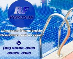Limpezas e manutenção de piscinas