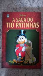 A Saga do Tio Patinhas ( excelente estado )