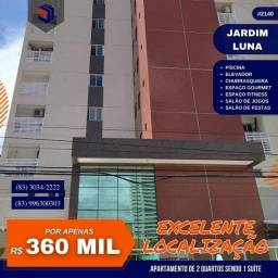 Título do anúncio: Apartamento para Venda em João Pessoa, Jardim Luna, 2 dormitórios, 1 suíte, 2 banheiros, 1