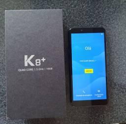 Celular com 1 mes de uso LG K8 PLUS COM TODOS ACESSÓRIOS