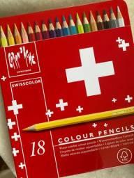 Estojo Lapis Carandashe  Swisscolor 18uni