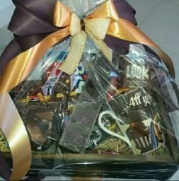 Cesta Chocolate Dia Namorados a partir de R$ 90,00