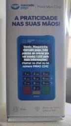 Maquininha mercado pago Point Mini Chip Wi-Fi