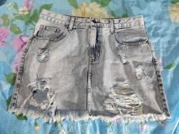Saia feminina jeans