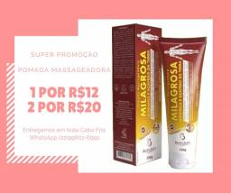 Pomada massageadora