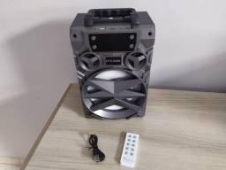 Caixa de som Big Sound KTS-909B - Bluetooth Cartão Sd Pen drivee Rádiiio