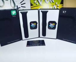Smartwatch x7 original, na caixa ,  relógio inteligente,  temos x8, app, bluetooth