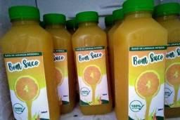 Suco de laranja 100% da fruta