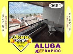 Título do anúncio: Manaíra, Mobiliado, 4 quartos, 120m², R$ 3.200, Aluguel, Apartamento, João Pessoa
