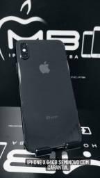 iPhone X 64GB até 18x no cartão