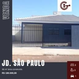Casa de esquina no Jd. São Paulo em Sarandi