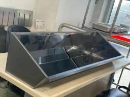 Lavatório para Mãos modelo Ideal Inox