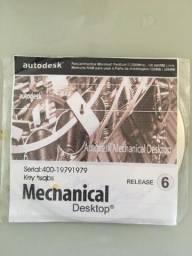 5 CDs Autodesk Desktop Autocad e  Matlab 6.5 e outros software 35,00 cada