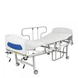 Locação de Cama Hospitalar com Colchão. 2 ou 3 Manivelas