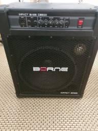 Amplificador CB200 Borne Contrabaixo Cubo Contra Baixo