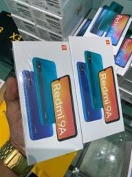 Smartphone Xiaomi Redmi 9A 32gb tela 6.53 lacrados novos
