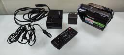 Filmadora E Câmera Panasonic Full Hd Hdc-hs250 Hdd 120gb