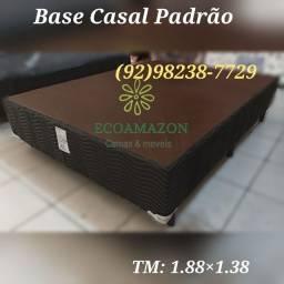Título do anúncio: Base Casal Padrão // ortobom // frete gratis